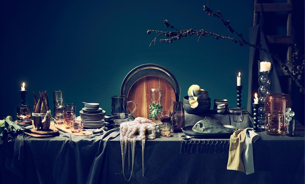 Ikea släpper vardagslyxig dukningskollektion