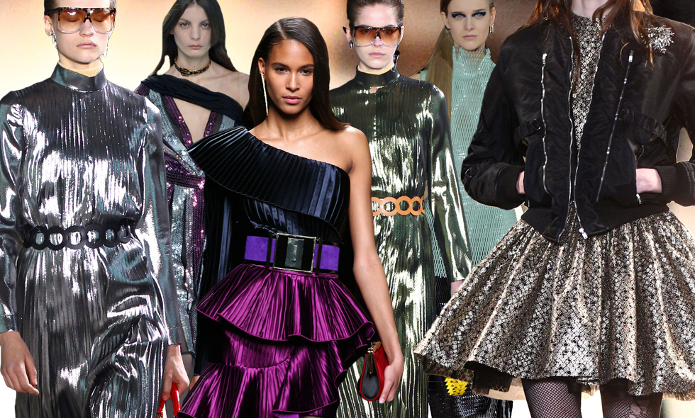 Trend: Metallisk 80-tals glamour