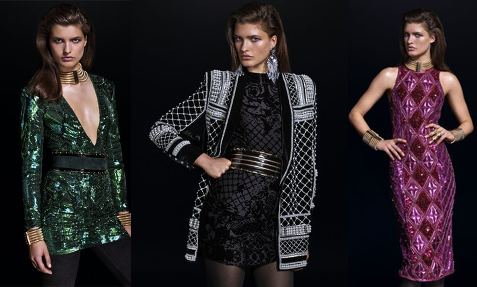 Här kommer en sneakpeak på H&M:s exklusiva designsamarbete med Balmain