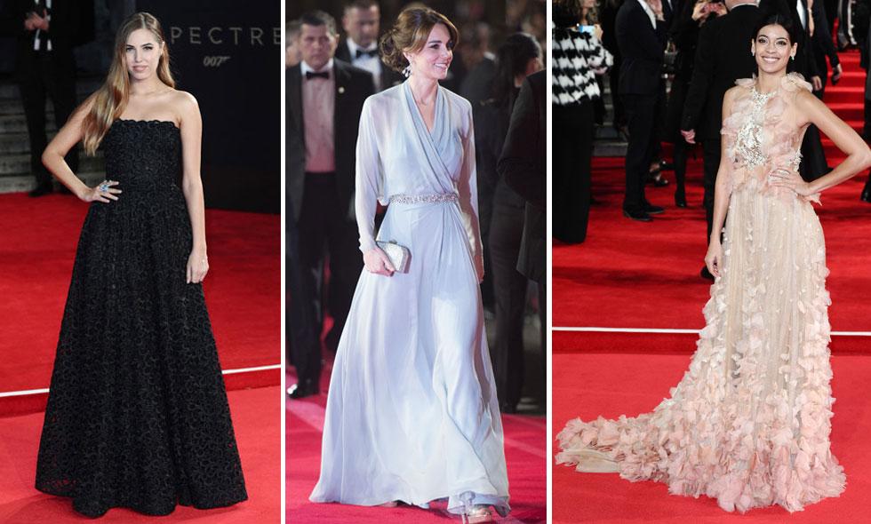 De 10 bäst klädda på världspremiären av nya James Bondfilmen Spectre