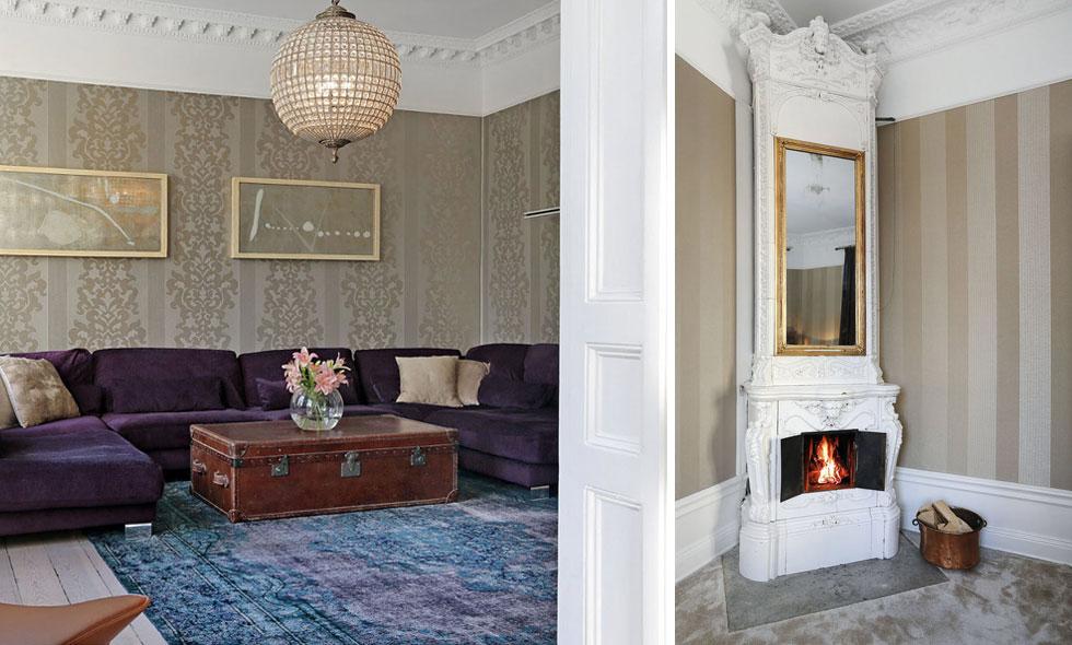Inspireras av denna lägenhet med hotellkänsla som finns ute till försäljning Metro Mode