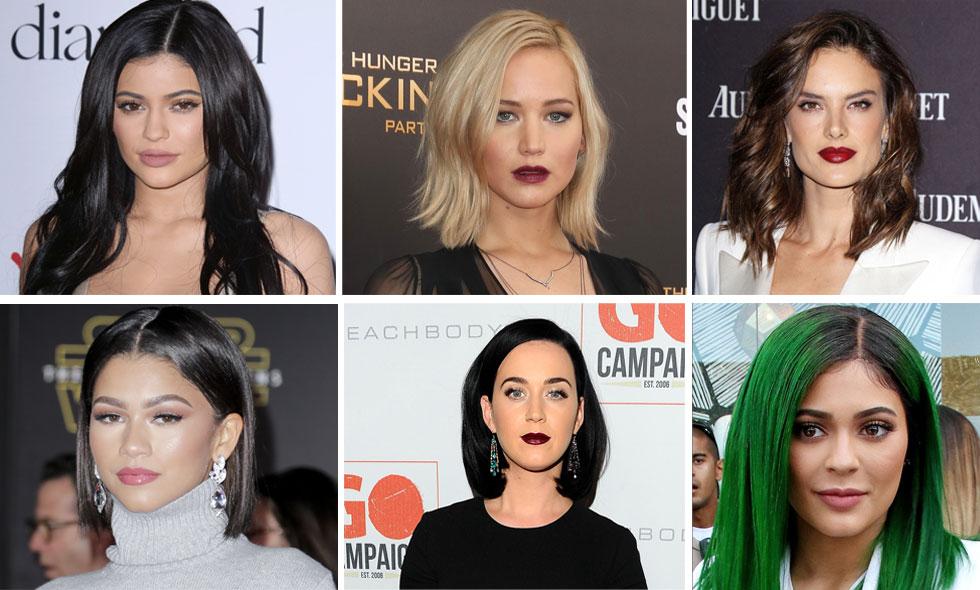 Kändisarnas snyggaste frisyrer 2015
