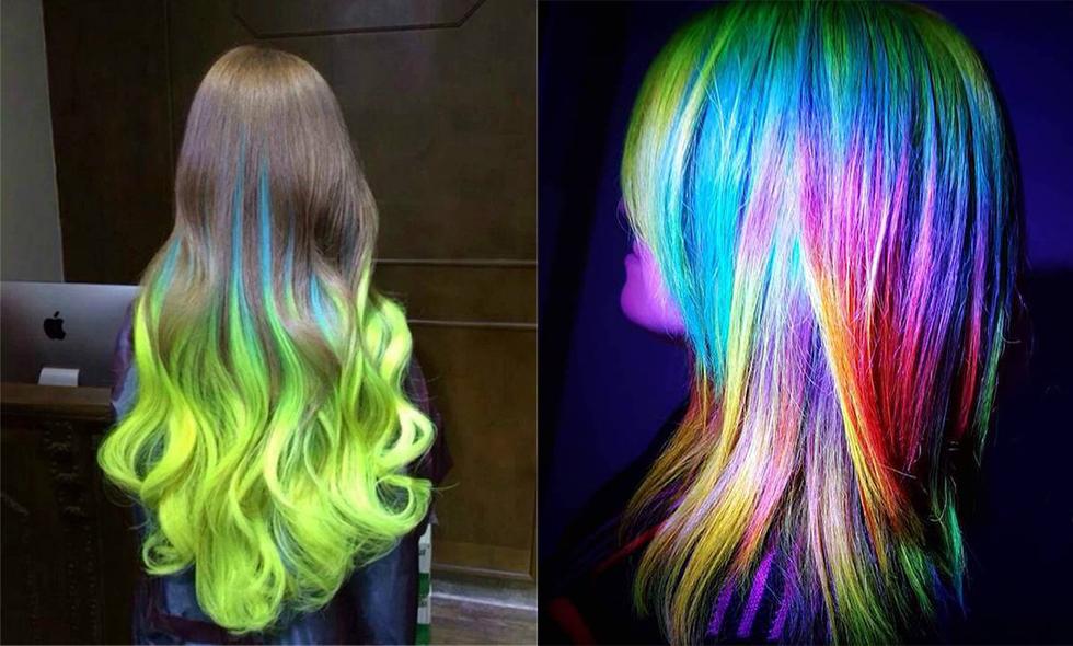 Så får du ditt hår att lysa i mörkret – 3 enkla steg till självlysande hår