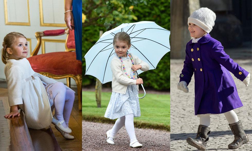 Grattis Estelle fyra år – här är prinsessans sötaste outfits