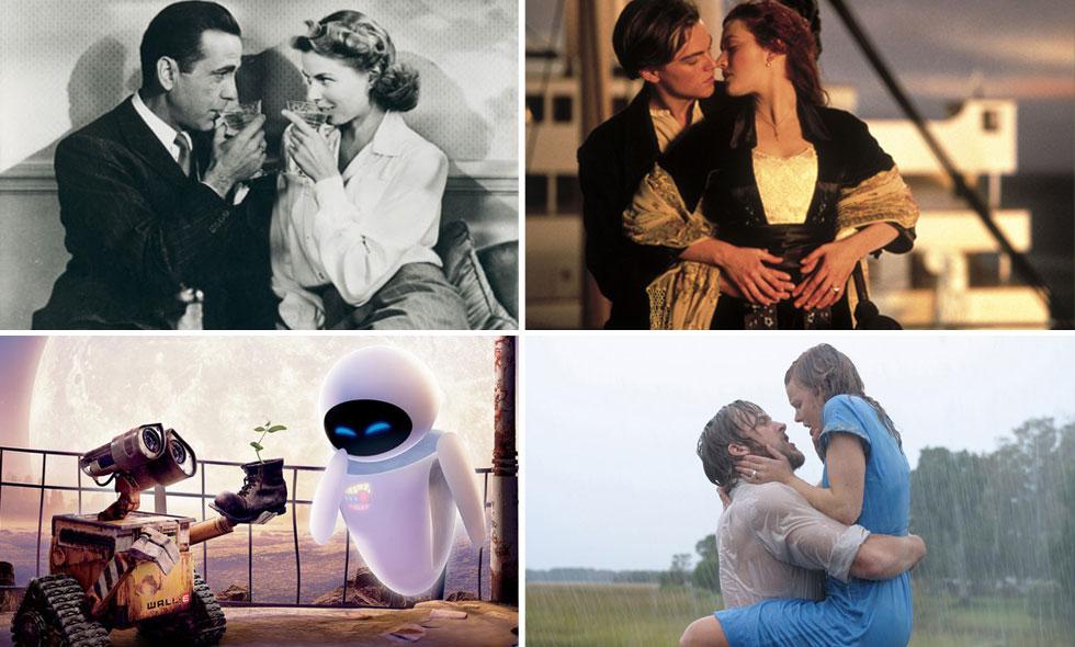 romantiska filmer med sexscener