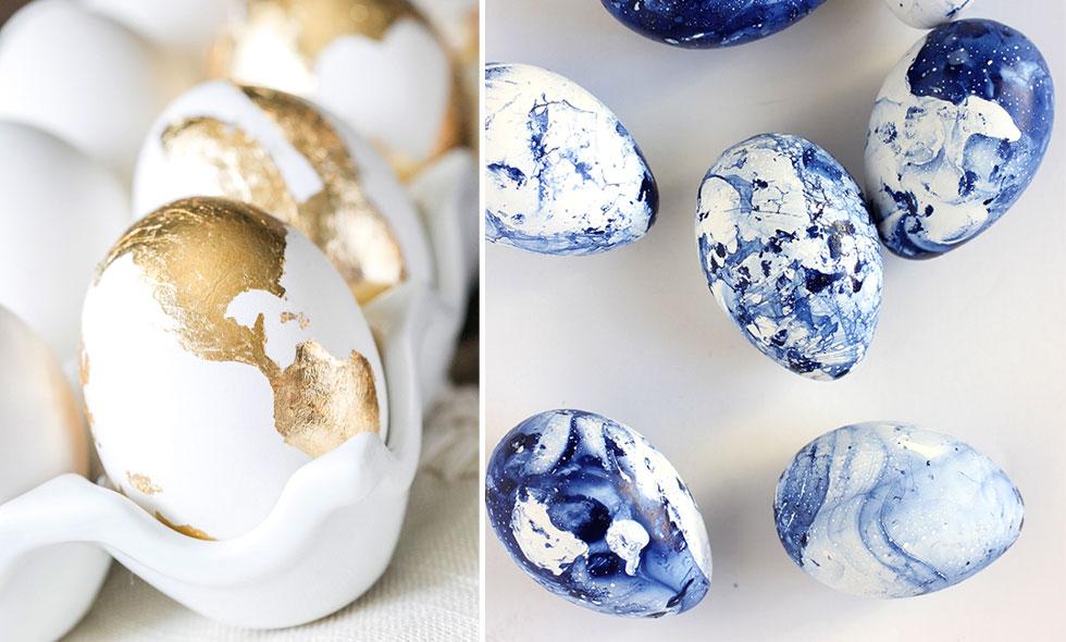 DIY – vackra påskägg att pryda ditt hem med i påsk