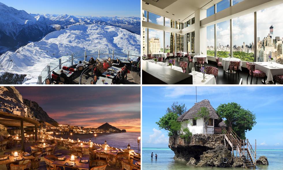 Här är 10 restauranger du måste äta på innan du dör