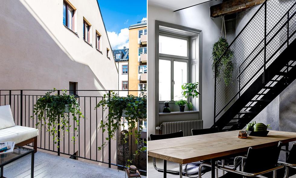 Veckans hem: Rustik etagevåning med drömläge