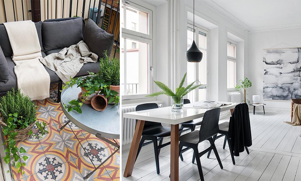 Sekelskifteslägenhet i Göteborg – tvåan som har allt