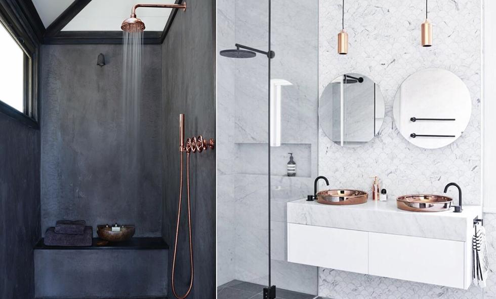 6 fantastiska badrum som vi älskar och inspireras av just nu ...