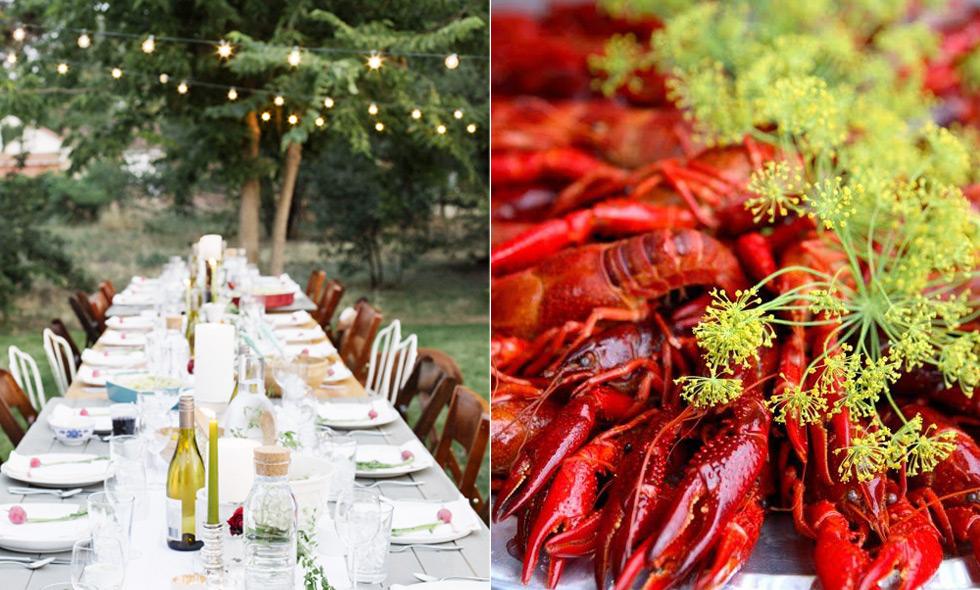 Recept: Mat och tillbehör till sommarens godaste kräftskiva
