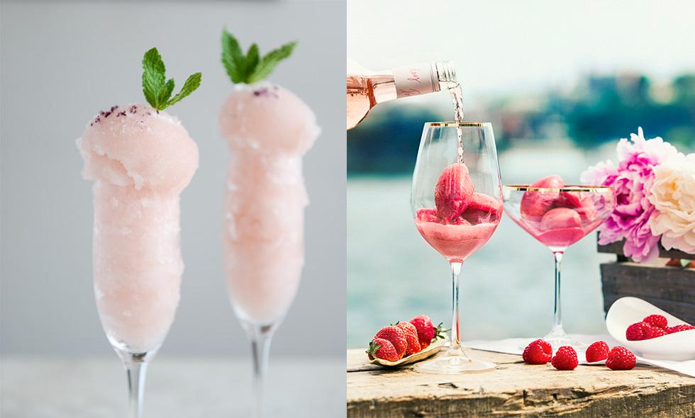 3 recept på Frosé du måste prova i sommar – frusen rosé svalkar gott i värmen