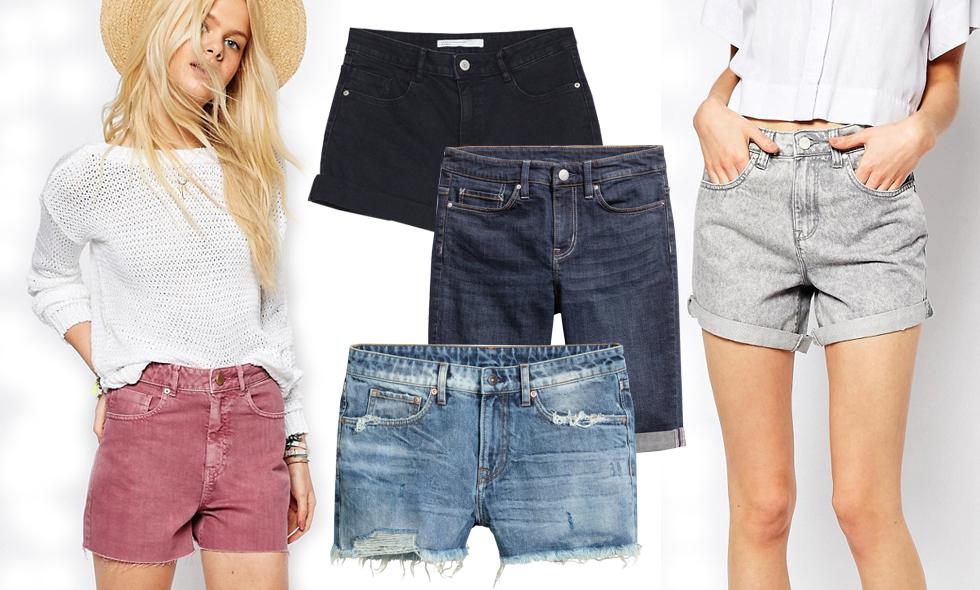 8 riktigt snygga och trendiga jeansshorts
