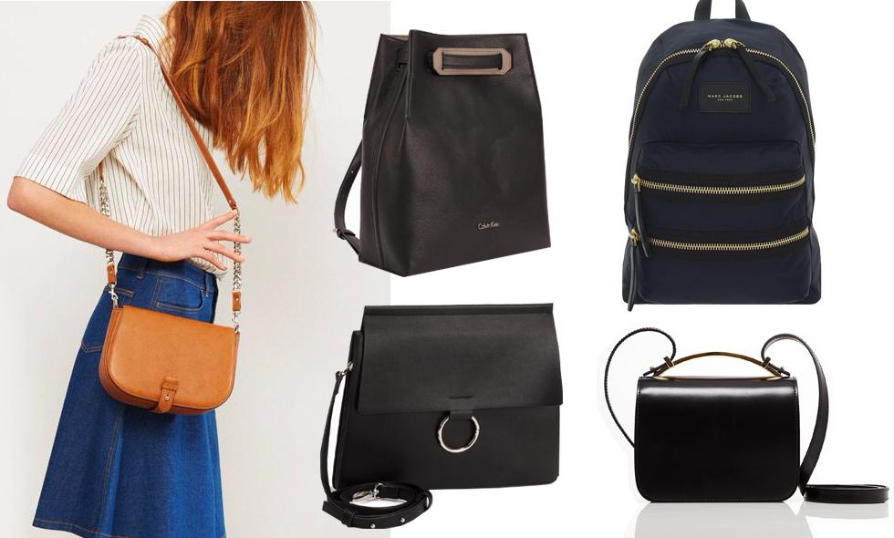 Kläder online – 5 fina väskor vi vill ha hösten 2016