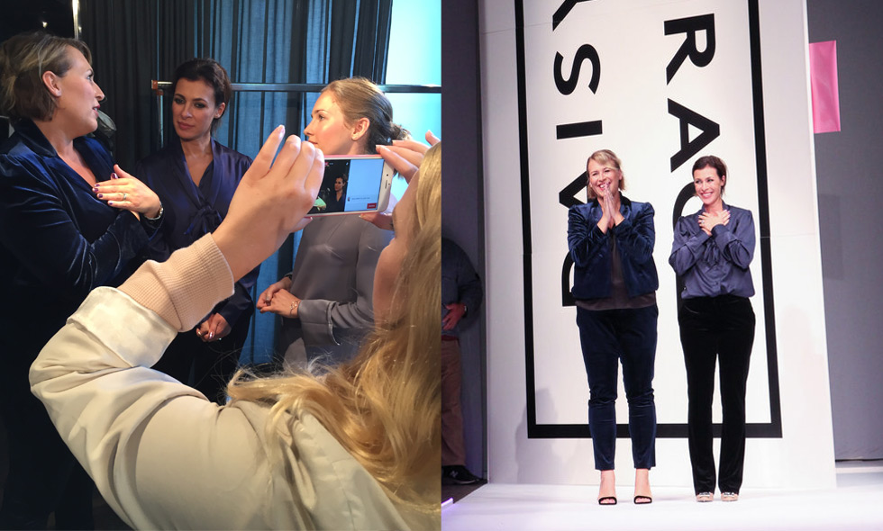 Kolla in backstage när Daisy Grace blir Fashion Week Stockholms största snackis