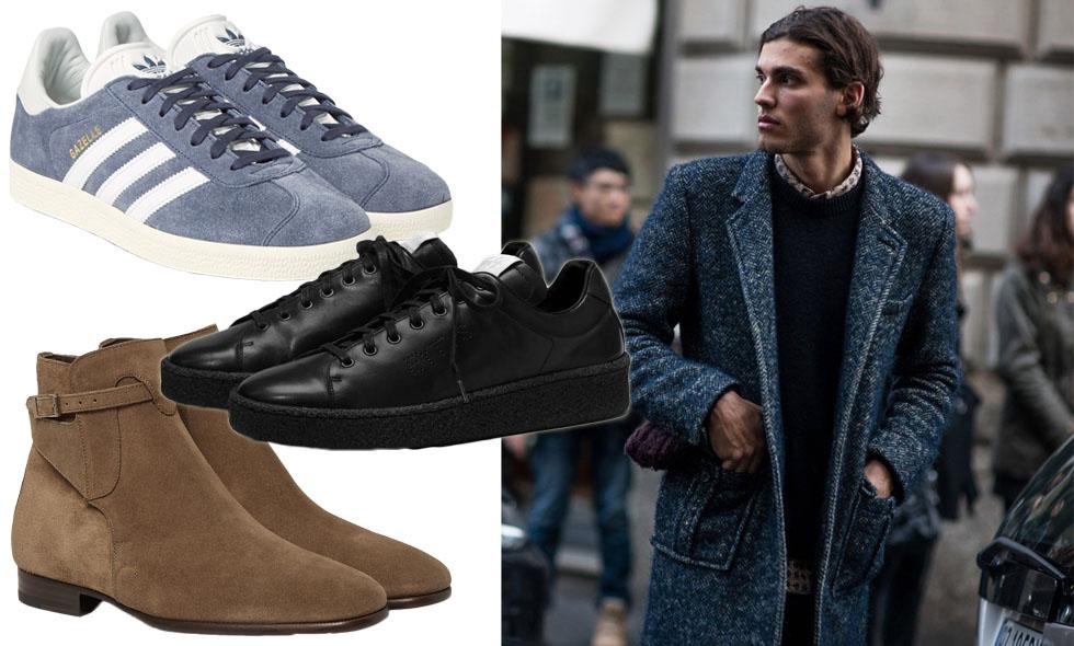snygga skor män