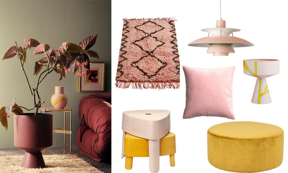 15 köp i höstens trendigaste färgduo – gult och rosa