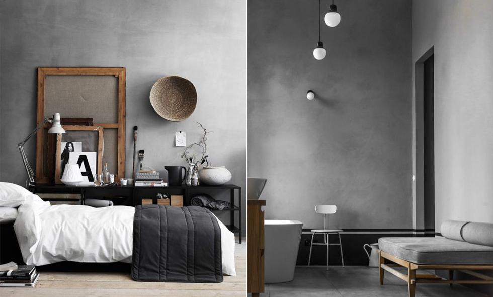 15 anledningar till att måla väggarna grå istället för vita