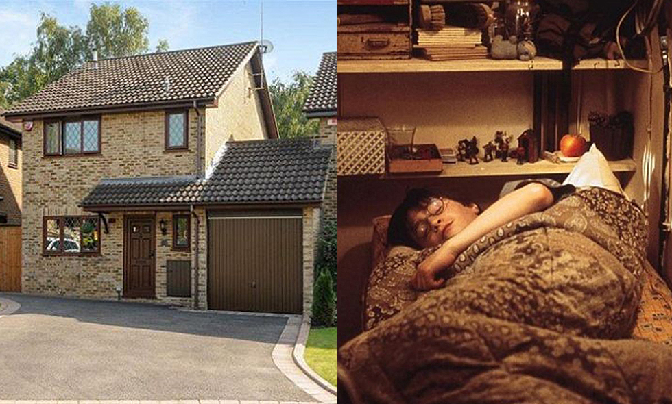 Nu kan du flytta in i Harry potters hus på Privet Drive