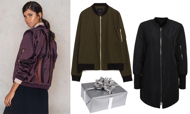 Årets modejulklapp 2016 – den snygga och bekväma bomberjackan