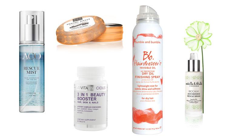 10 produkter för att återfukta hud och hår under vintern
