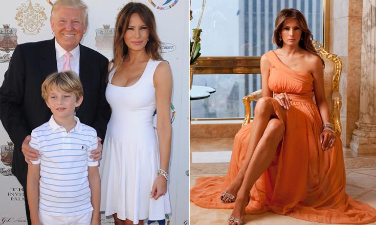 Välkommen in i Donald och Melania Trumps pampiga våning i Trump Tower