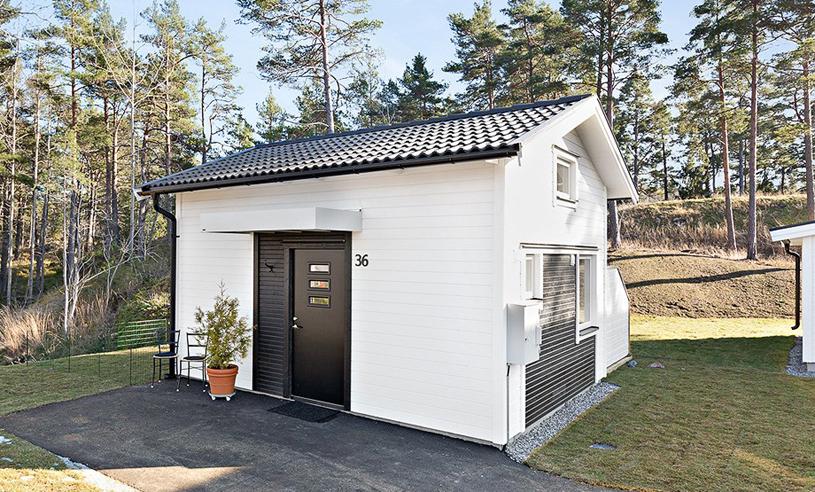 Titta in i Sveriges mest kvadratsmarta hus – på 22 kvadratmeter