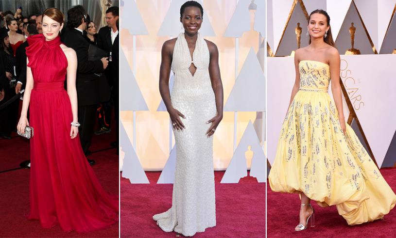 De 16 vackraste klänningarna från Oscarsgalan som vi aldrig glömmer