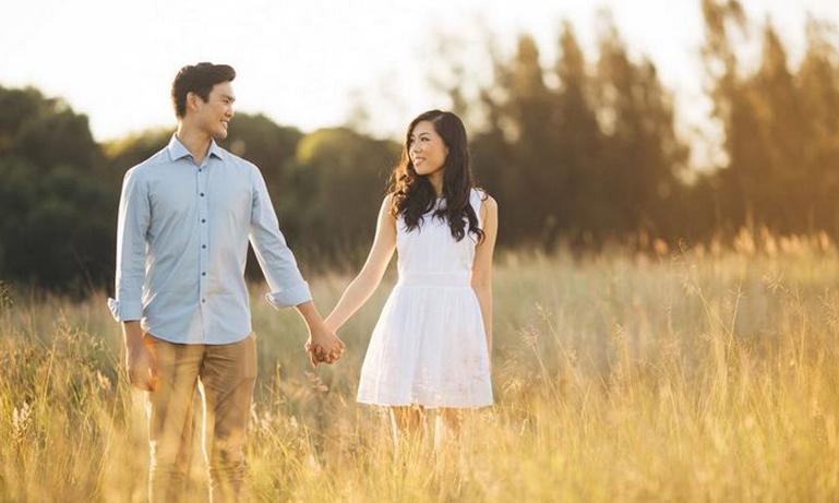 En man friade i tre år – se reaktionen när hans livs kärlek tillslut förstår