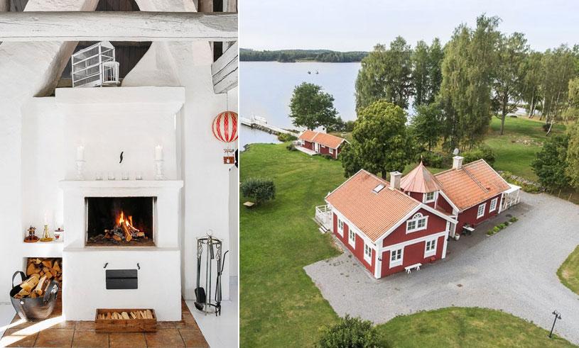 Veckans hem är en idyll vid Mälaren – där vi vill tillbringa hela sommaren