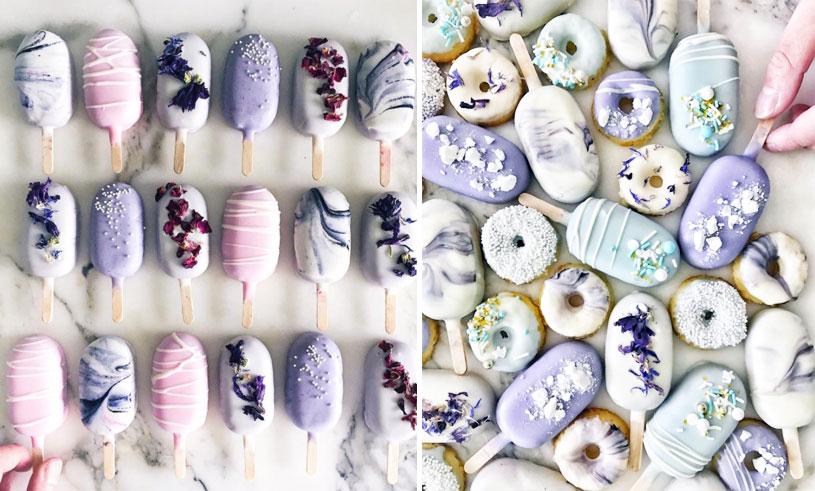 Dessa magiska glassar är gjorda av kakor och vi kan inte sluta titta på dem