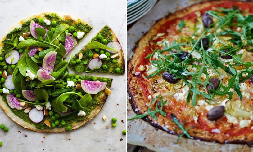 Recept: Så enkelt gör du blomkålspizzabotten – plus 3 tips på fräscha pizzatoppings!