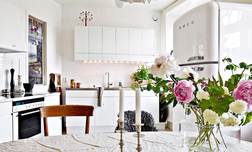 Veckans hem är en lyxig vindsetage på 133 kvadratmeter perfektion