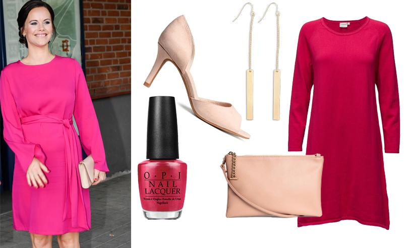 Sno prinsessan Sofias färgstarka stil – till budgetpris