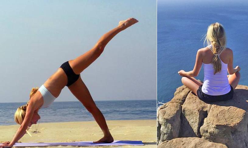 Yoga på stranden i sommar – 5 enkla, smarta och stärkande övningar