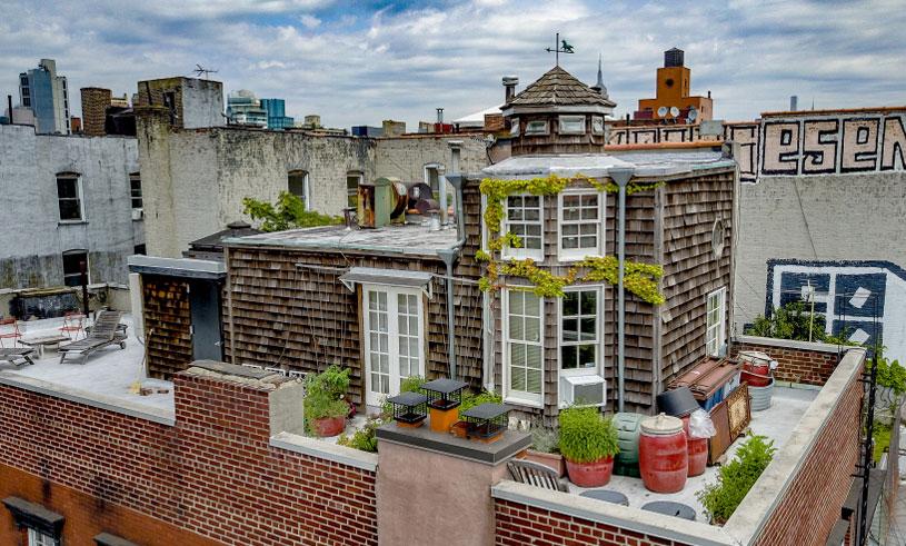 Villan på ett hustak i New York får oss att vilja flytta in direkt