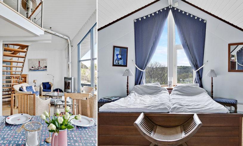 Den futuristiska lyxvillan vid Marstrand har allt vi drömmer om hos ett sommarhus