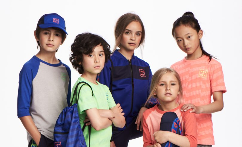 Gen-Pep och H&M släpper sportkollektion för barn och unga