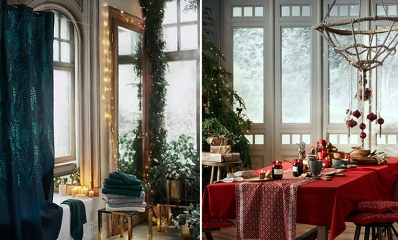 H&M Home presenterar julens nyheter och vi drömmer oss bort bland inspirationsbilderna!