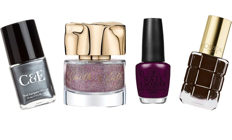 Här är höstens nageltrender – vi listar 9 nagellack i mörkt, metallic och glitter