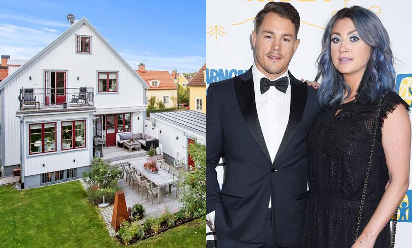 Nu säljer Camilla Läckberg sin stora villa i Enskede – följ med på en rundtur i huset!