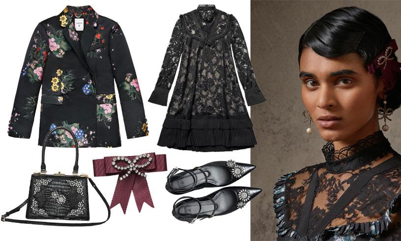 Magiska mönster och romantik – Kolla in första bilderna på Erdem x H&M- kollektionen!